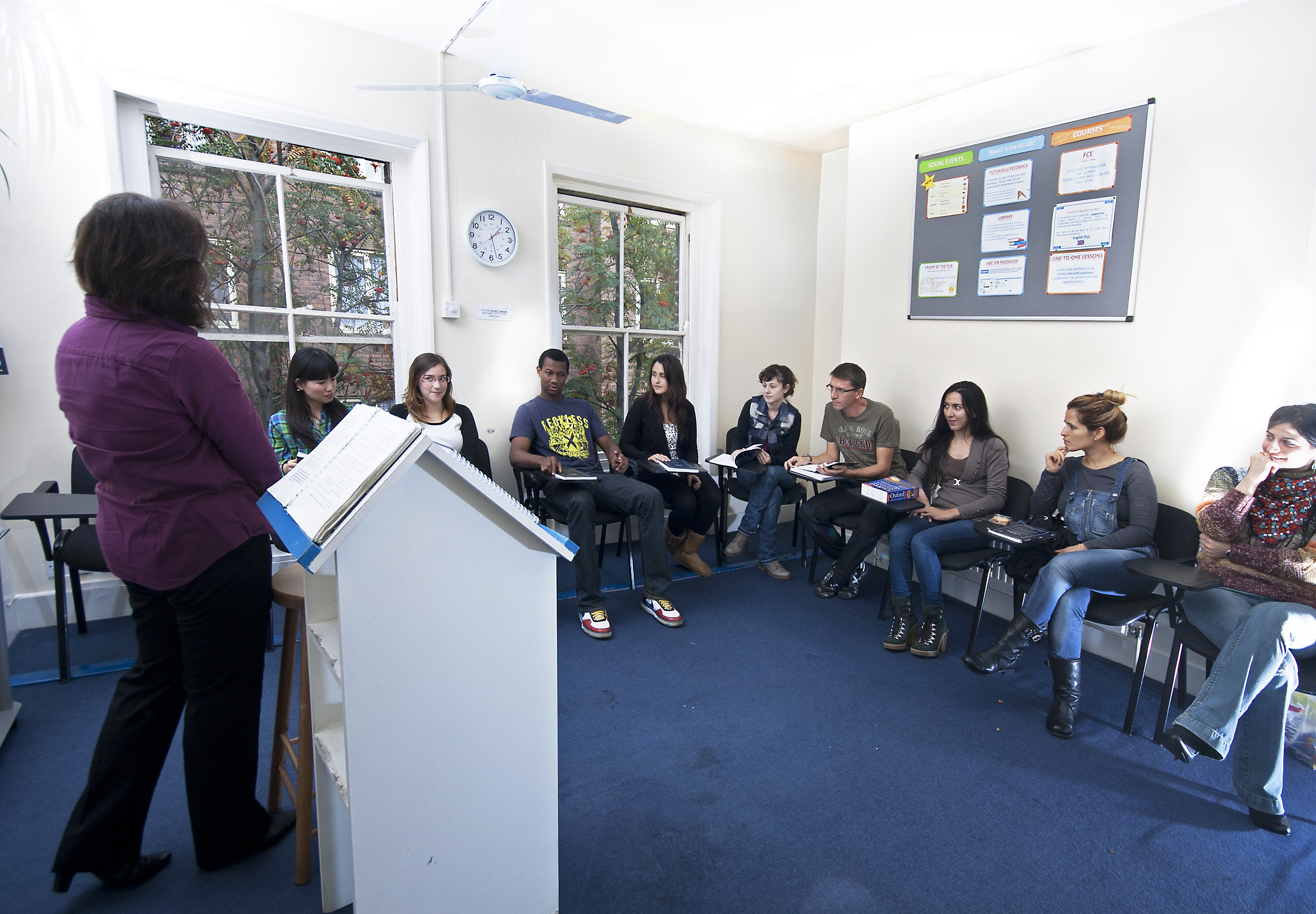 Learn english from a to z at abc school of english for London school of english